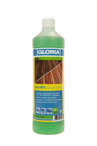GLORIA Holz/WPC Spezial-Reiniger, Reinigungsmittel, Konzentrat, 1 L