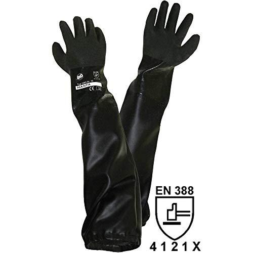 Unbekannt Griffy L+D 1485-H PVC Sandstrahlerhandschuh Größe (Handschuhe): Herrengröße EN 388 CAT II 1St.
